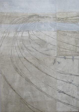 cross the sea 150 / 102 cm, 2011, Mischtechnik