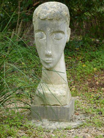 stiller Monolog 70 cm h,  Mares / Sandstein, 2004